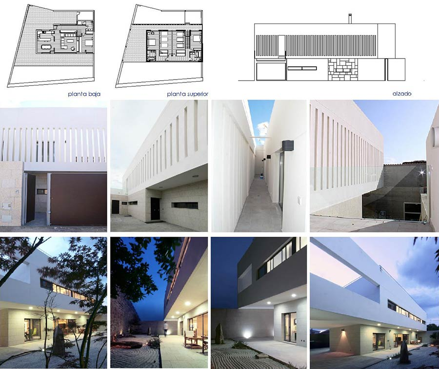 Fotos de chalet de diseño a medida por Quadratura Arquitectos