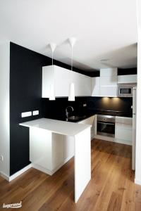 Foto del Aprovechamiento del espacio en una reforma de cocina en Madrid