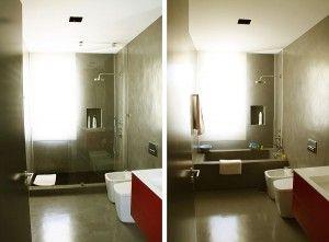 Reforma de Baños de diseño por Quadratura Arquitectos