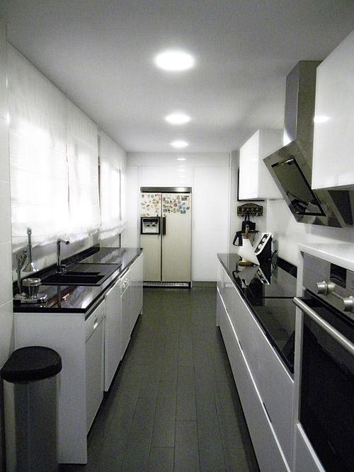 Foto de la cocina después de la reforma