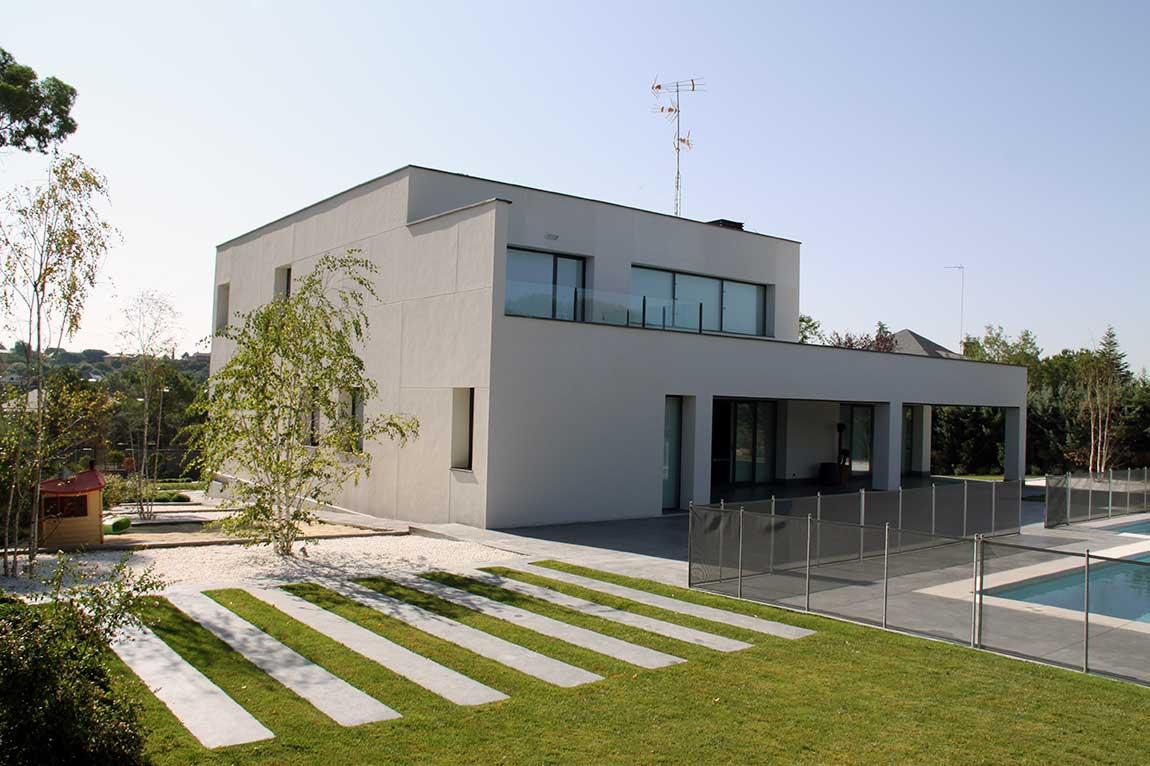 Foto de Construcción de casas y chalets en Madrid por Quadratura Arquitectos